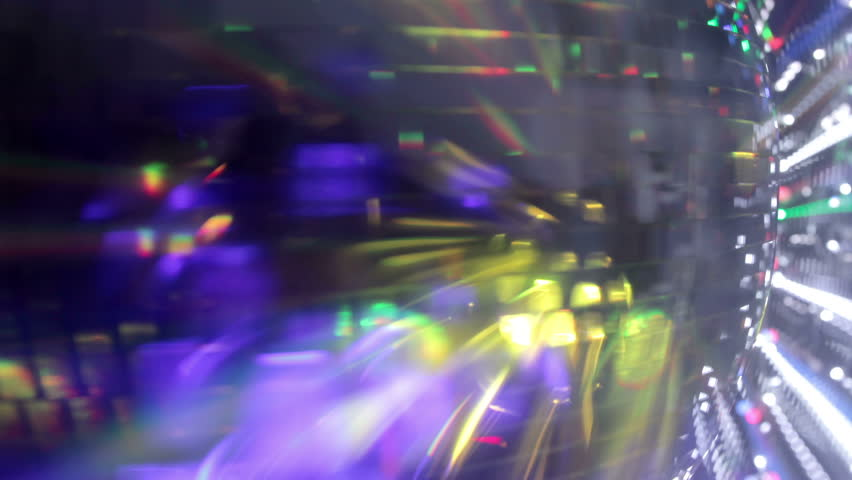 Abstract funky discoball spinning with light effects and rays. perfect clip for club visuals or party/celebration | Shutterstock HD Video #2996074