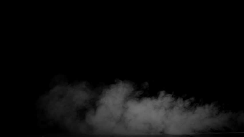 Blowing smoke, footage on a black background for overlay. | Shutterstock HD Video #30009715