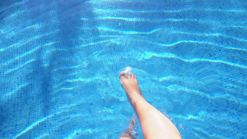 Blue pool water | Shutterstock HD Video #30051502