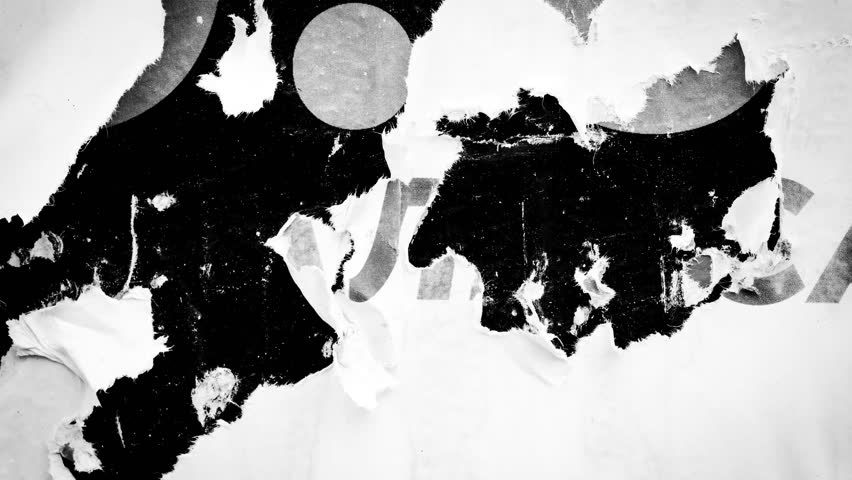 Old posters black and white abstract grunge texture wall  backdrop placard / Seamless loop collage paper slideshow background  | Shutterstock HD Video #30059095