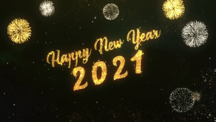 Happy New Year 2021 Greeting Stock Footage Video (100% Royalty-free) 30064879 | Shutterstock