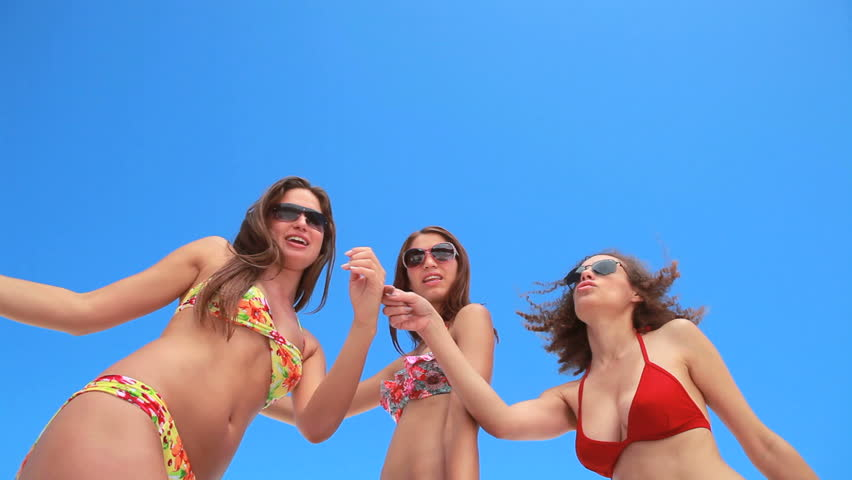 Girls Dancing Bikini
