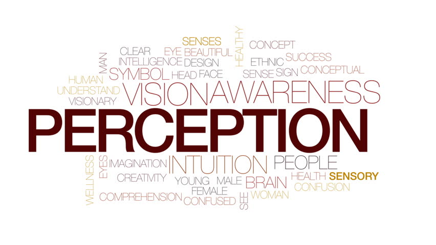 Perception animated word cloud, text design animation. Kinetic typography.   Shutterstock HD Video #30161347