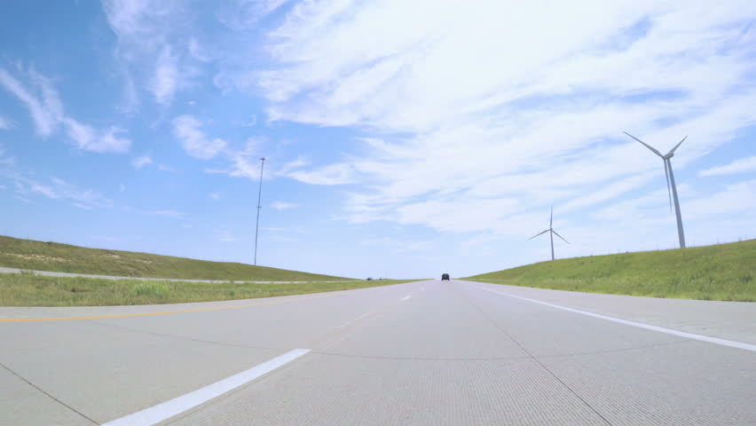 POV point of view - Driving East on Interstate Highway 70 through Kansas. | Shutterstock HD Video #30169321