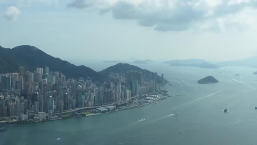 View of Hong Kong on the Bay   Shutterstock HD Video #30209938