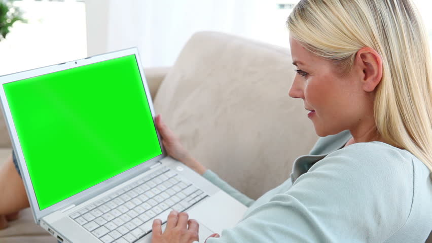 Animation of people using a laptop in a living room | Shutterstock HD Video #3022954