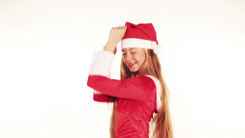 Christmas girl | Shutterstock HD Video #3030562