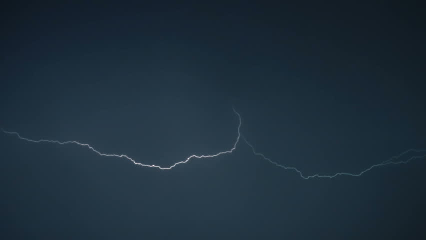 Lightning flashes in the sky | Shutterstock HD Video #30317392