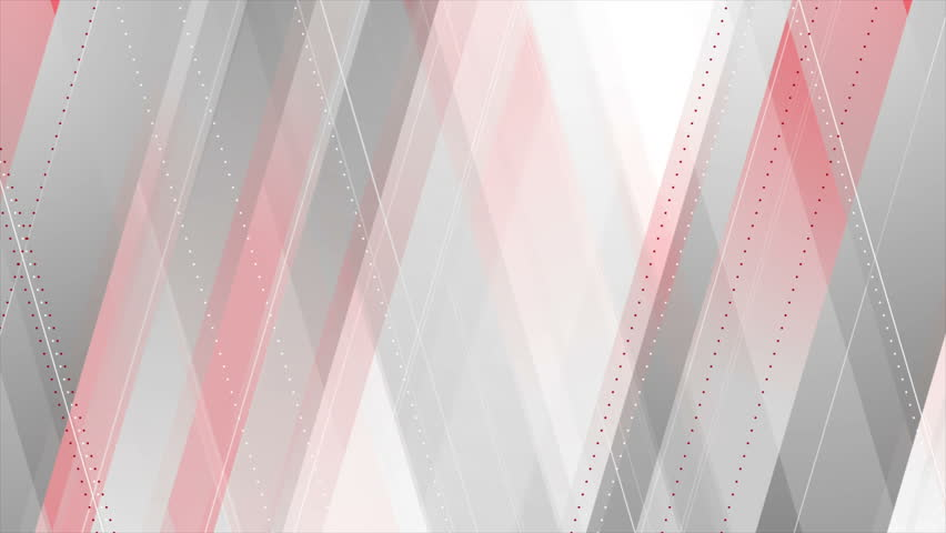 Red and grey abstract tech geometric minimal motion design. Seamless loop. Video animation Ultra HD 4K 3840x2160 | Shutterstock HD Video #30342448