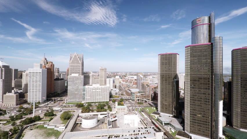 Aerial Detroit