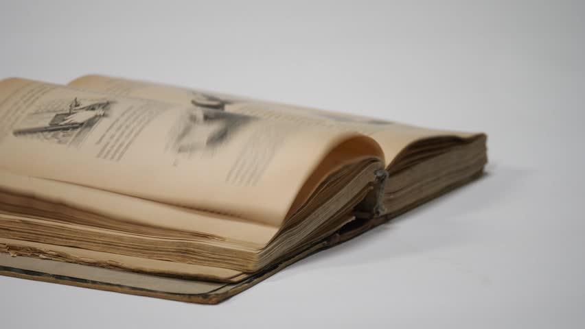 Book, flipping sheet | Shutterstock HD Video #30370156