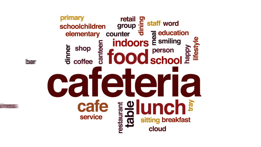 Cafeteria Animated Word Cloud, Text Stock Footage Video (100% Royalty-free)  30372886 | Shutterstock