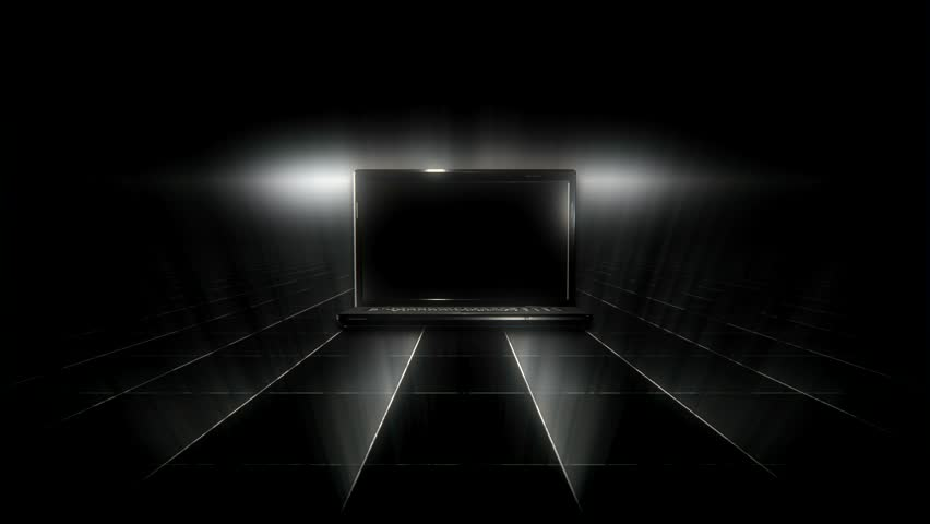Black laptop hardware device appearance | Shutterstock HD Video #30448432