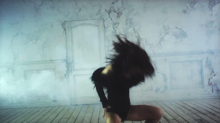 Young woman dancing.    Shutterstock HD Video #3045289