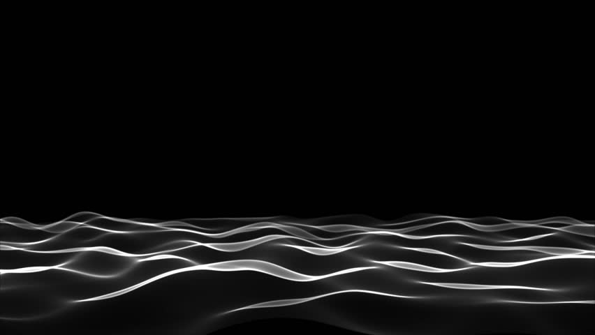 Black Soft Waves Lower Third, Looping (3D Rendering) | Shutterstock HD Video #30581269