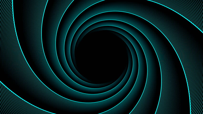 Four spiral backgrounds. Seamless loop. Abstract rotating cyan, green, gold and purple vortexes. | Shutterstock HD Video #30680245