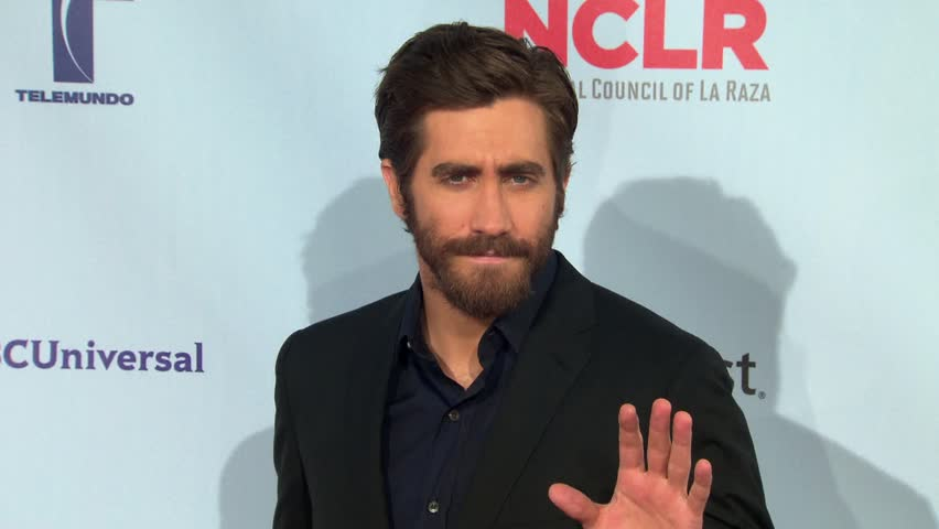 Pasadena, CA - SEPTEMBER 16, 2012: Jake Gyllenhaal, walks the red carpet at the ALMA Awards 2012 held at the Pasadena Civic Auditorium