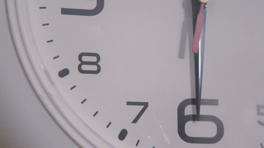 Slowly goes the arrow of the clock close up | Shutterstock HD Video #30753613