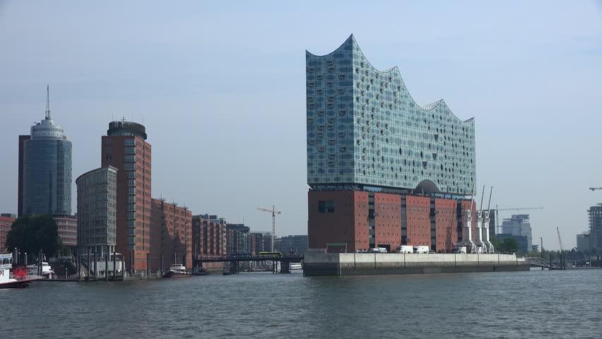 Elbe Philharmonic Hall (Elphilharmonie) in Hamburg, Germany