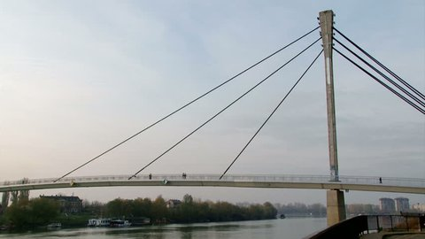 Bridge, pan left