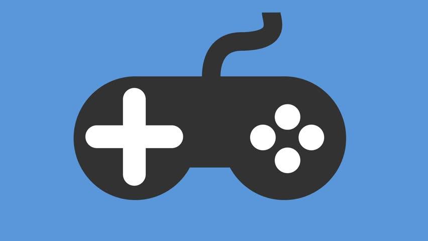 Modern Video Games Controller Icon : vidéos de stock (100 % libres ...
