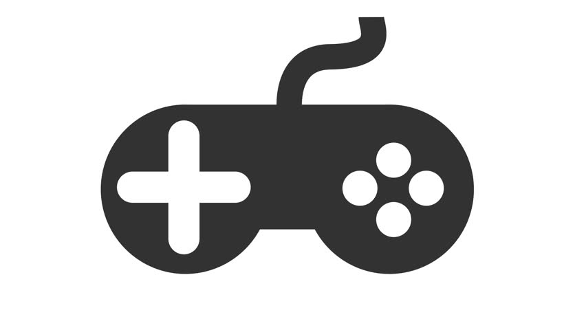 Modern Video Games Controller Icon Stock Footage Video 100 Royalty Free 30876592 Shutterstock