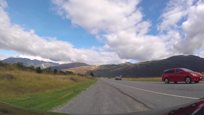 Drive Timelapse on Arthur's Pass, New Zealand | Shutterstock HD Video #30878935