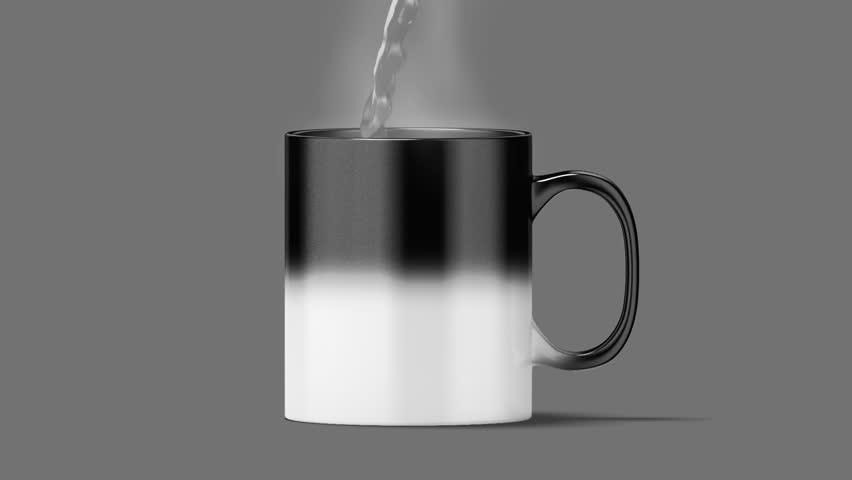 Blank Magic Mug Mockup Black Stock Footage Video 100 Royalty Free 30895831 Shutterstock