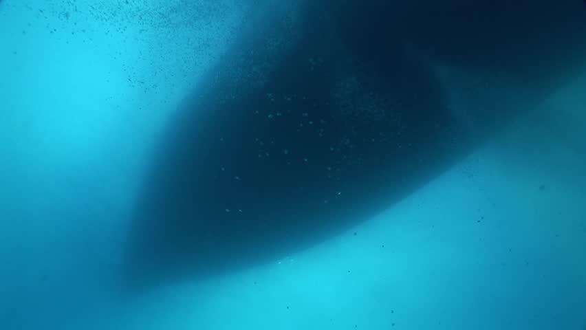 Warship from underwater | Shutterstock HD Video #30898660