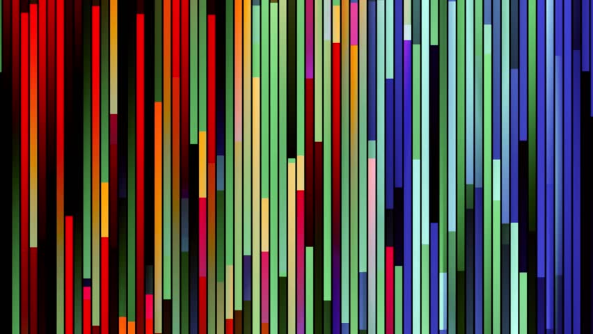 abstract ornamental soft rainbow colors random moving block background New quality brick cube bar tile stripe shape square universal motion dynamic animation colorful joyful holiday music video