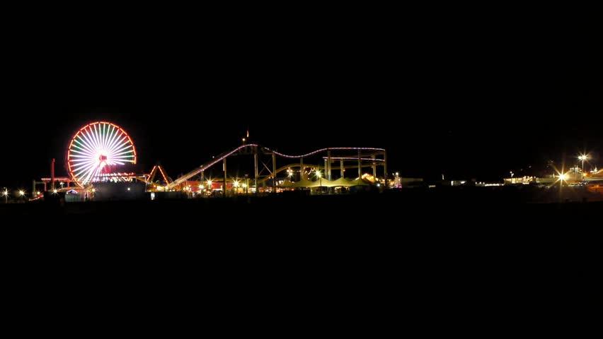 Santa Monica Pier Series | Shutterstock HD Video #3105511