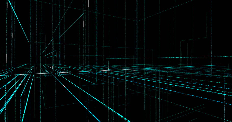 Technology background circuit board and code. 3d Illustration technology background. 4K loop graphic elements | Shutterstock HD Video #31069591