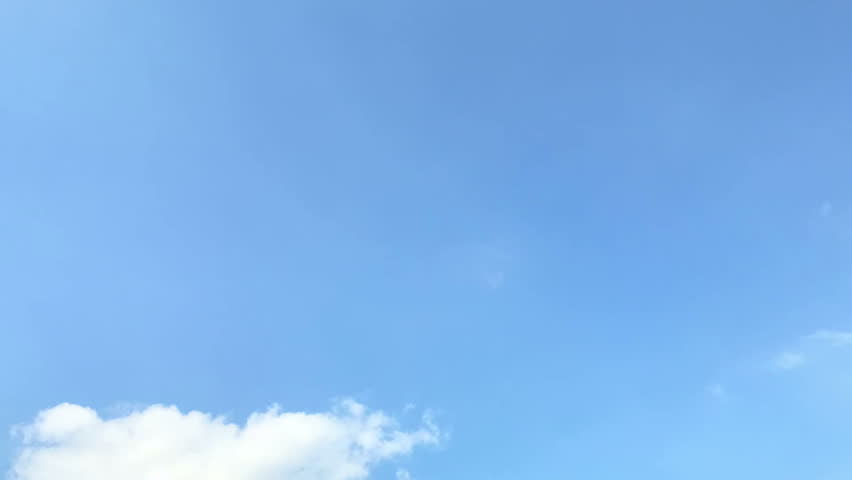 Time-lapse: white clouds flying on blue sky  #31074436