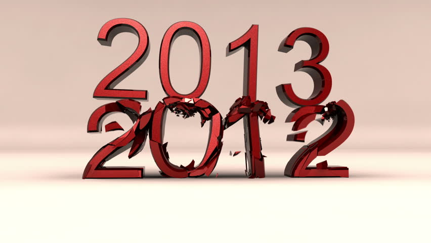 2012 - 2013 new year clip version 2