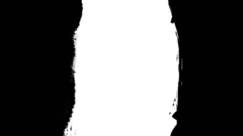 Animation grunge - brush stroke on a white background. Abstract hand - painted element. Grunge brush strokes animation. Underline and border design. Seamless looping background. 4K | Shutterstock HD Video #31121008