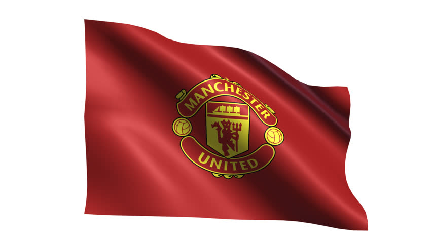 Manchester United Flag Is Waving Stock Footage Video 100 Royalty Free 31122019 Shutterstock