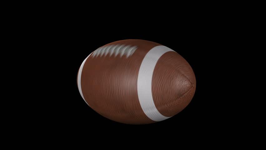 American Football Spinning