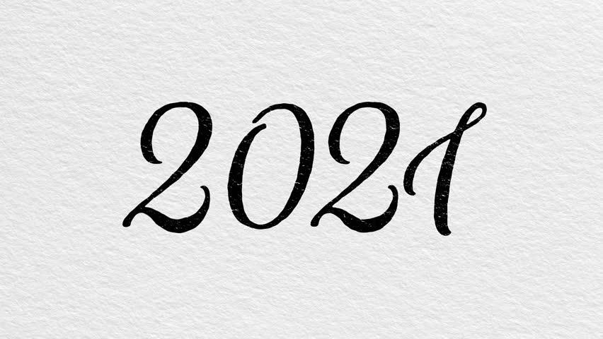 New Year 2021 Animation. 2021 : vidéo de stock (100 % libre de droit)  31140199 | Shutterstock