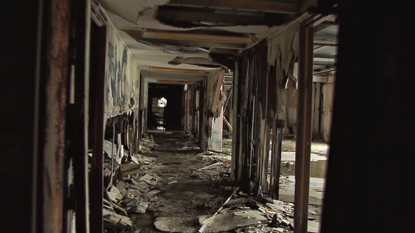 Urban Decay Creepy Abandoned Building