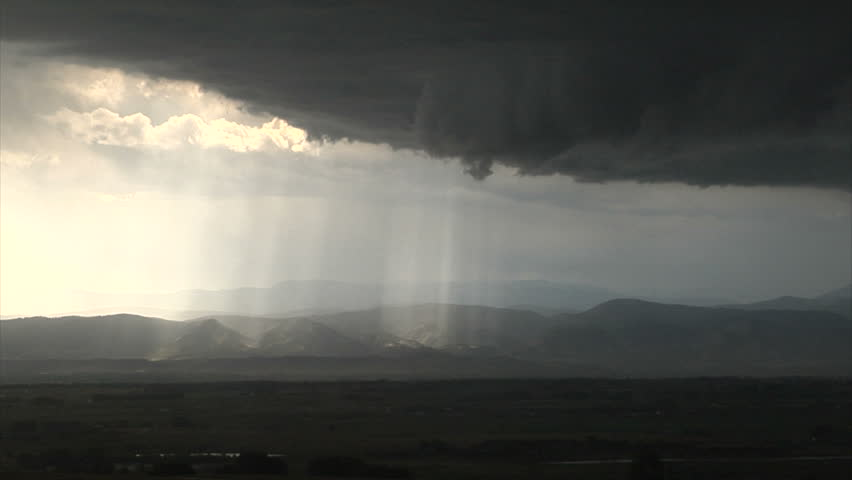Sun rays through clouds | Shutterstock HD Video #31171360