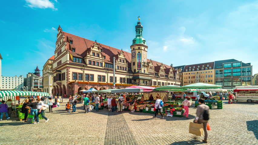 Leipzig Germany August 16 Stock Footage Video 100 Royalty Free 31182550 Shutterstock
