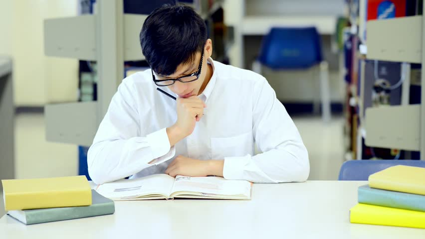 Young Student Study Hard in Stock Footage Video (100% Royalty-free)  31203922 | Shutterstock