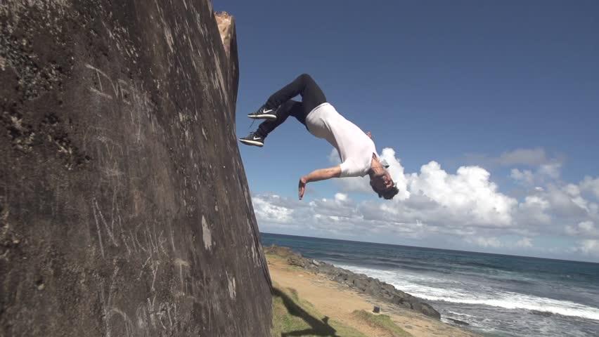 Layout wall flip shot in super slow motion   Shutterstock HD Video #31207168