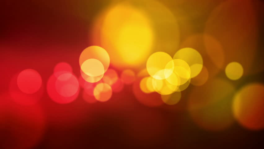 animated screen saver golden color with a flash and back focus #3121036