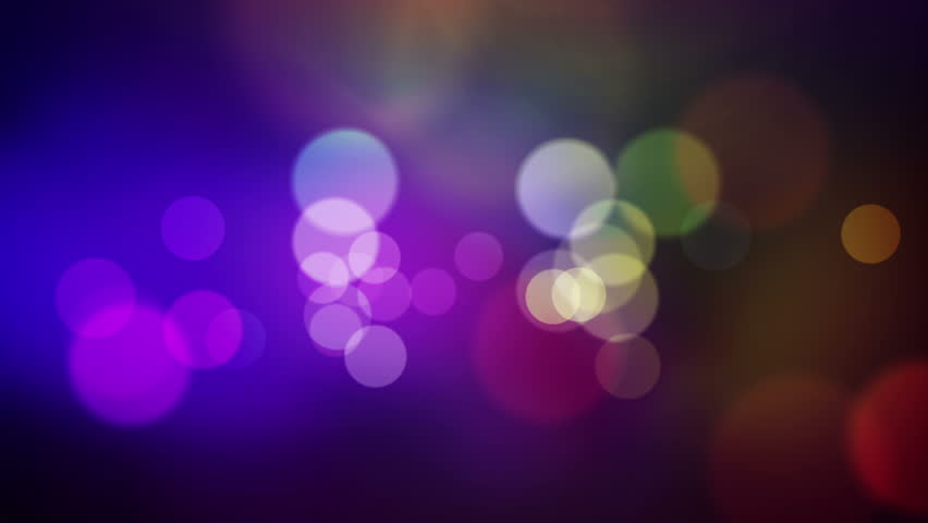 animated screen saver of blue and purple with a flash and back focus #3121039
