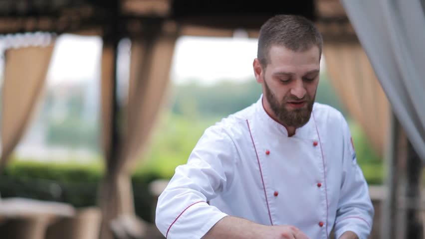 The chef prepares the Foie gras | Shutterstock HD Video #31224292