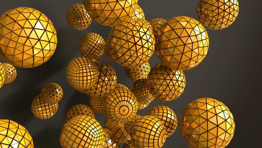 Фото золотая сфера анимация