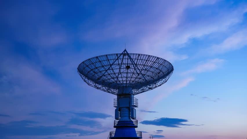 Very Large Satelite Dishe Telescope,Military Radar,Space Exploration. - Space Science | Shutterstock HD Video #31346209