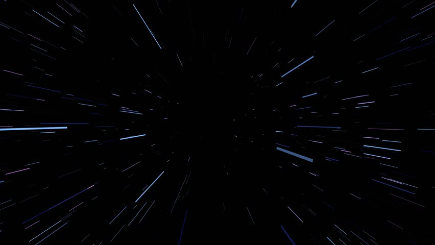 Background through the deep space. Warp and Blast Stars. Flying through space. Future Cosmos Abstract Background Concept. Perfect for promo teaser background. | Shutterstock HD Video #31368232