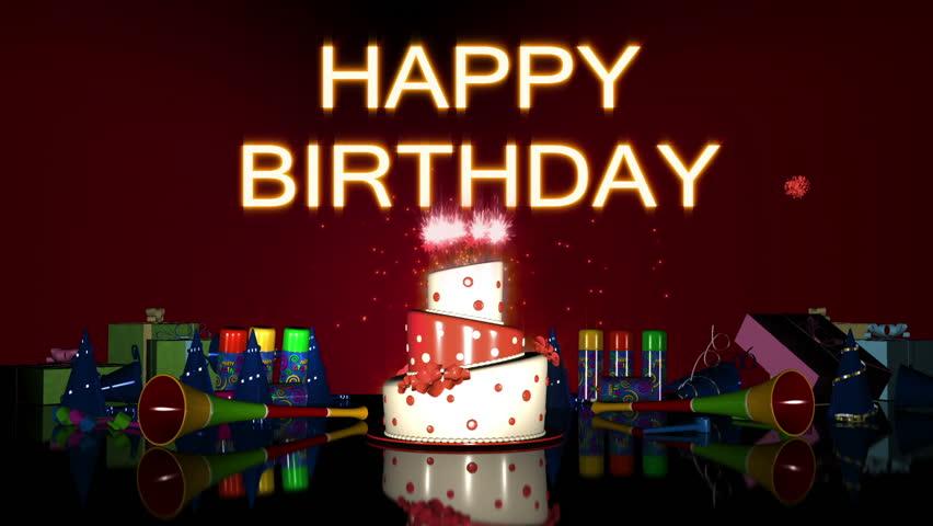 Happy Birthday version 3